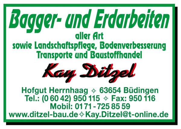 Kay Ditzel - Bagger- und Erdarbeiten