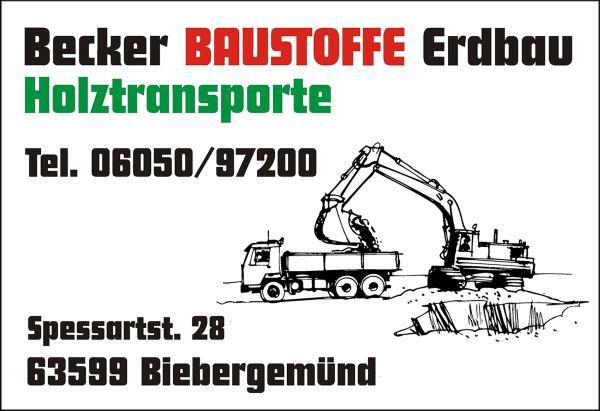 Becker Baustoffe Erdbau